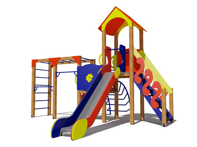Игровой комплекс для детей 6-9 лет