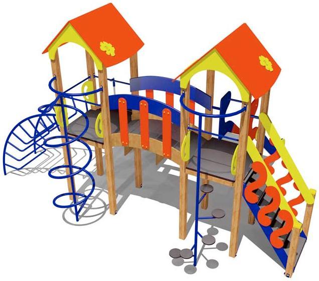 Игровой комплекс для детей 4-6 лет