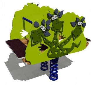 Качалка на пружине «Змей Горыныч»