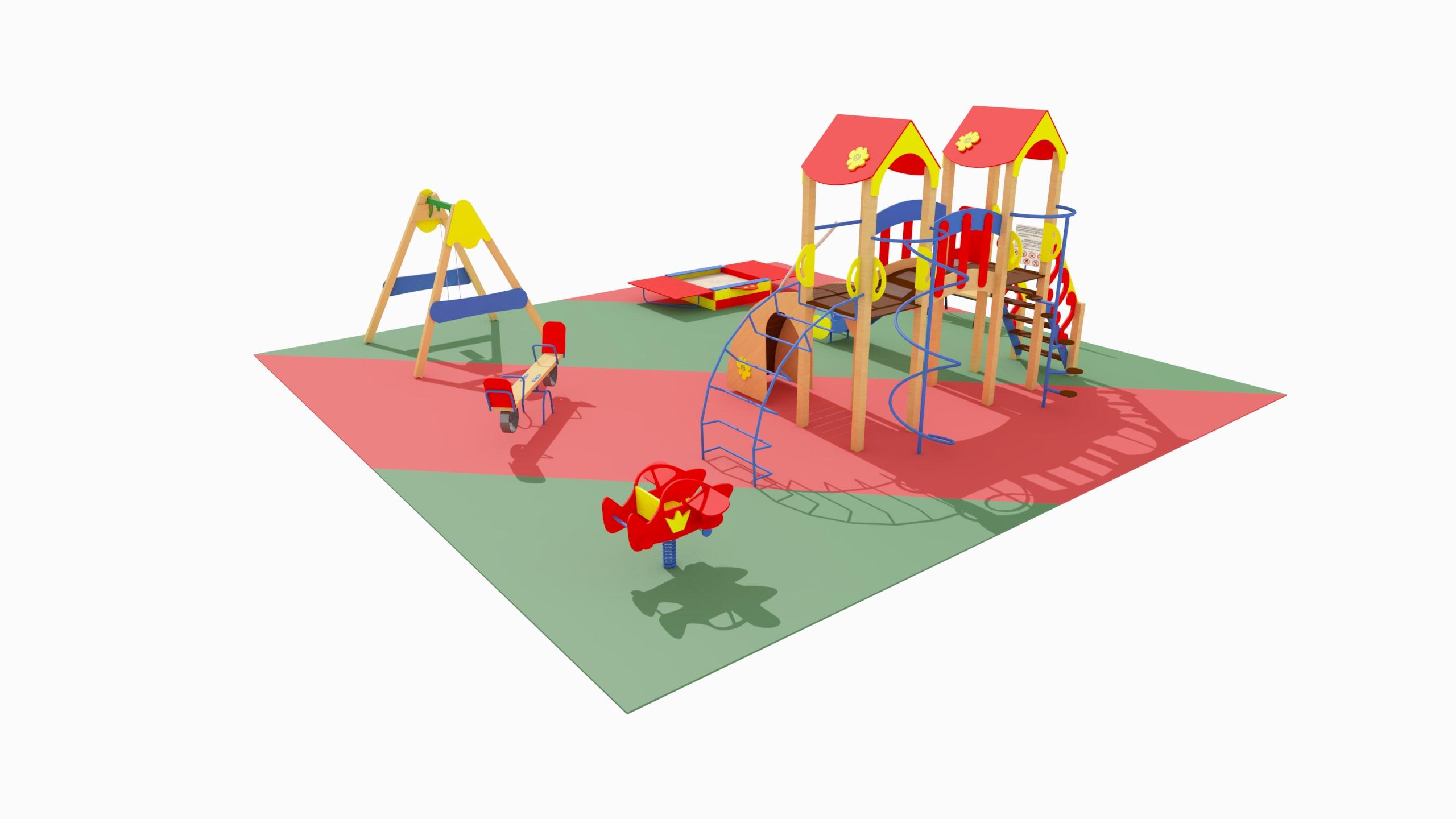 Детская игровая площадка №2 (10x10)