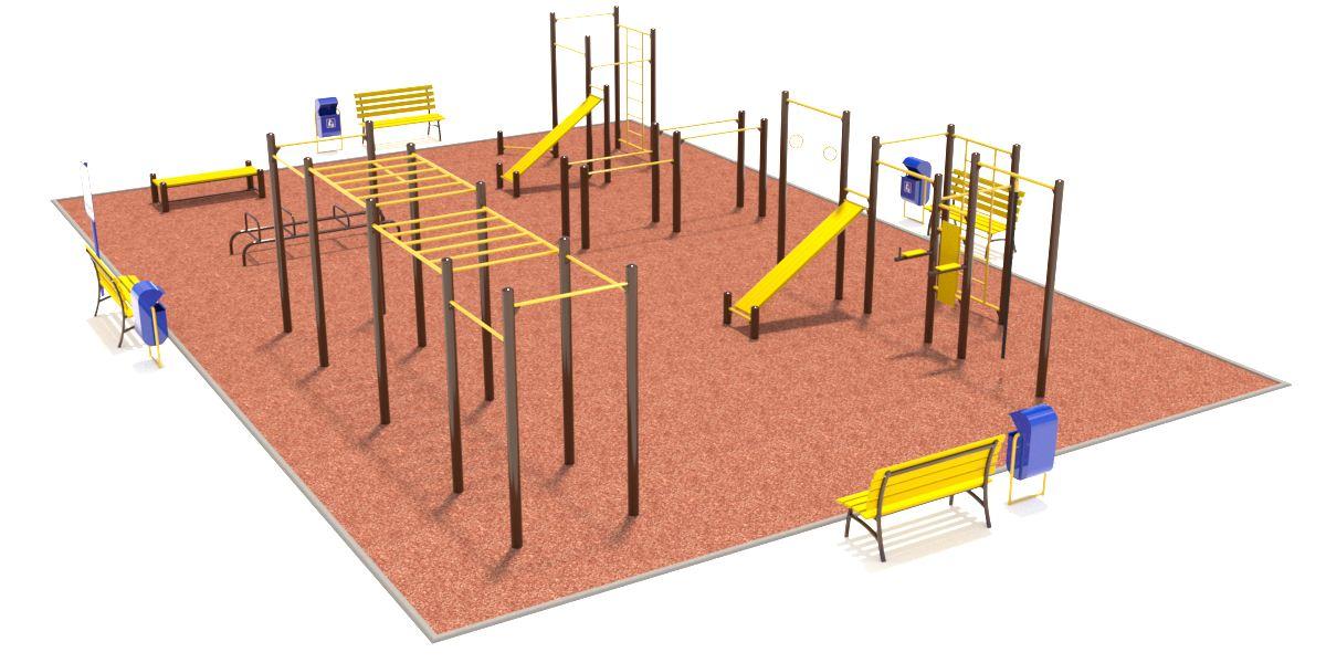Спортивная площадка №2 (15x10,5)