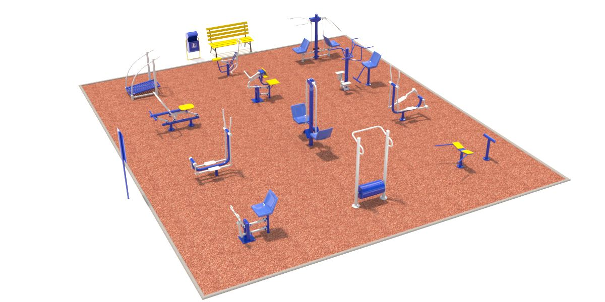 Спортивная площадка №3 (11x9,5)