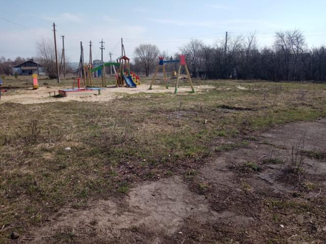 Обустройство спортивной площадки по ул. Центральная в д. Ясенки Арсеньевского района