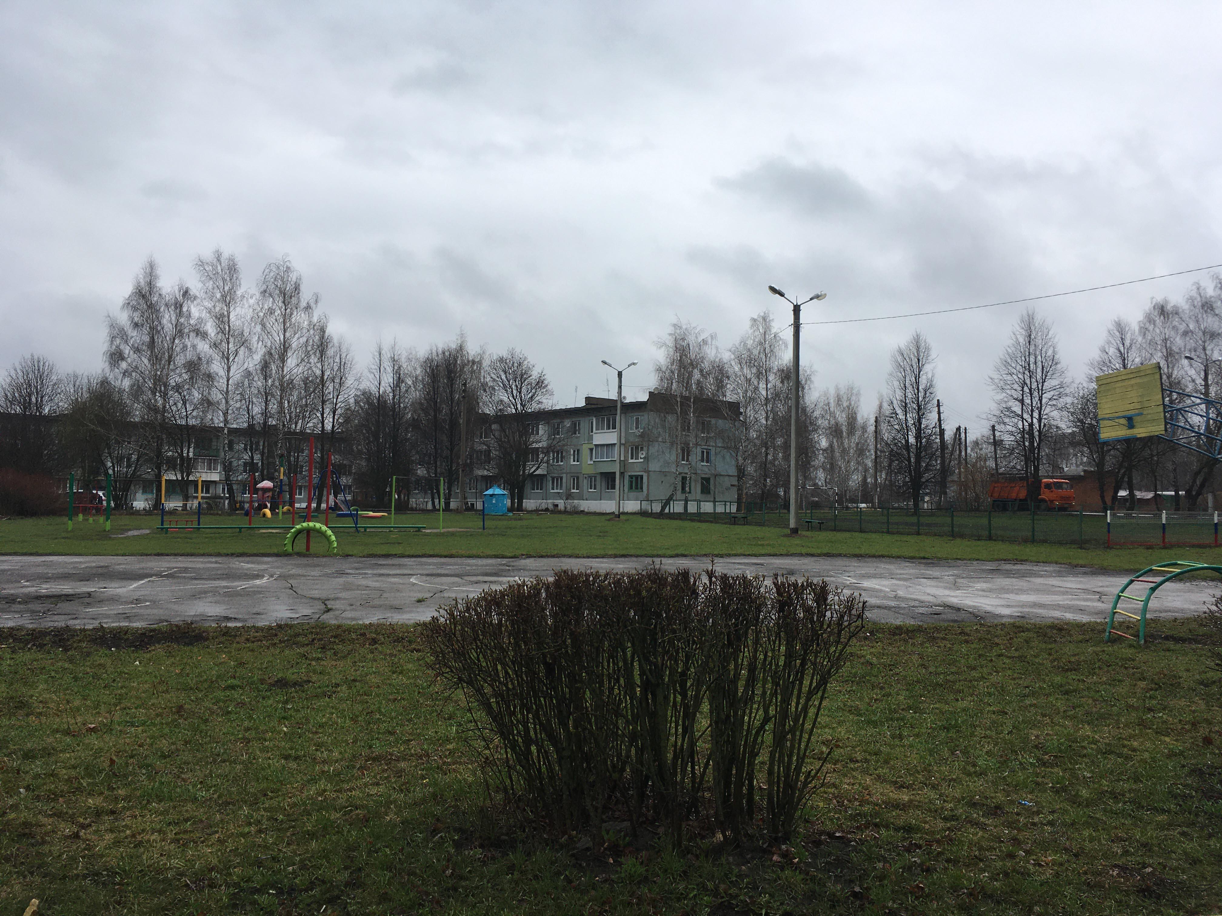 Обустройство спортивной площадки на ул. Луговая в поселке Ширинский Новомосковского района