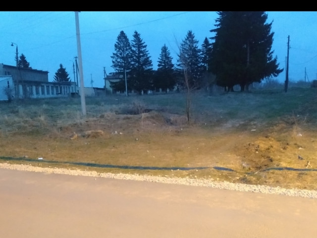 Обустройство спортивной площадки в д.Ботня, М.О. г.Алексин в районе СДК
