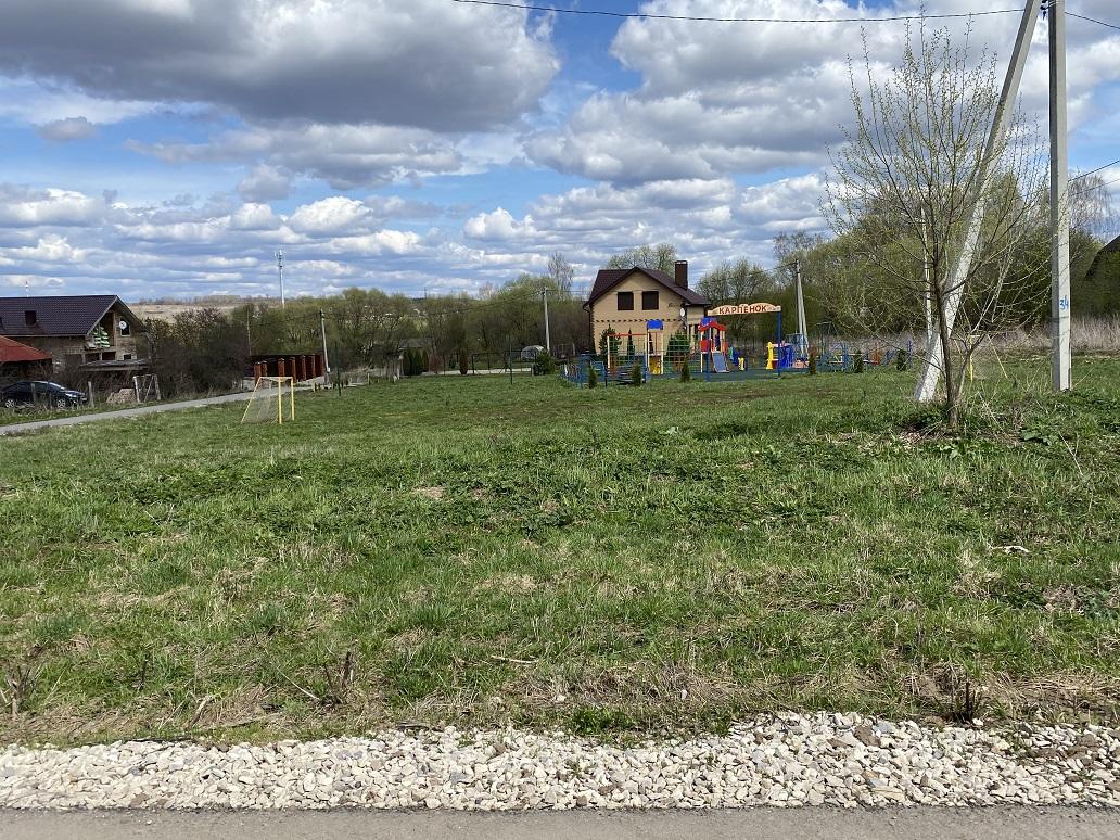 Обустройство спортивной площадки в д. Карпищево Заокского района