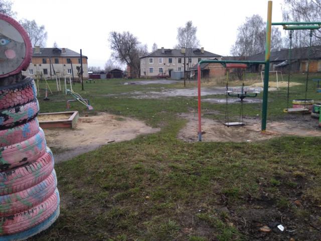 Обустройство спортивной площадки в мкр.Новый города Кимовск Кимовского района