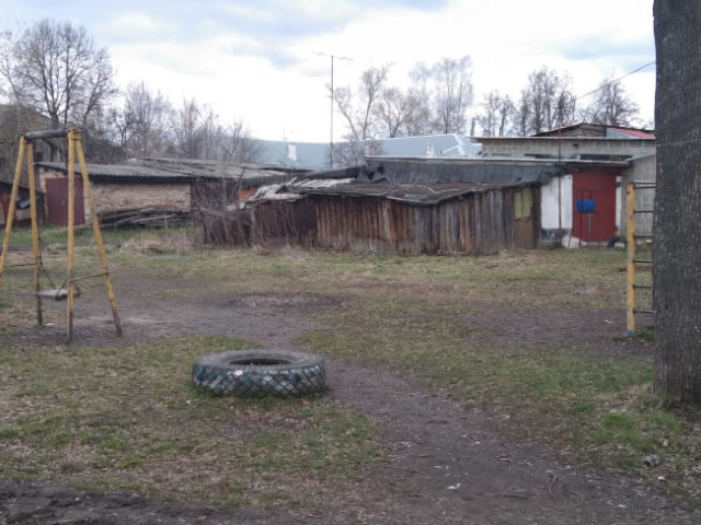 Обустройство детской игровой площадки в г.Кимовске ул.Ленина, во дворе домов №5,5а,5б
