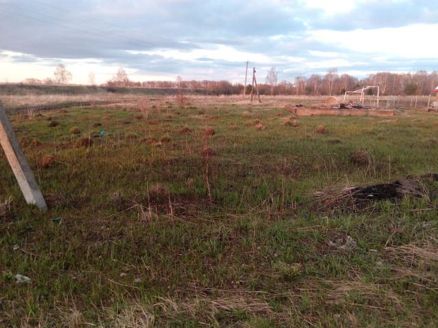 Обустройство детской игровой площадки село Новоселебное, Киреевского района, Тульской области.