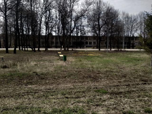 Обустройств спортивной площадки в д. Турдей, улица Центральная, Воловского района