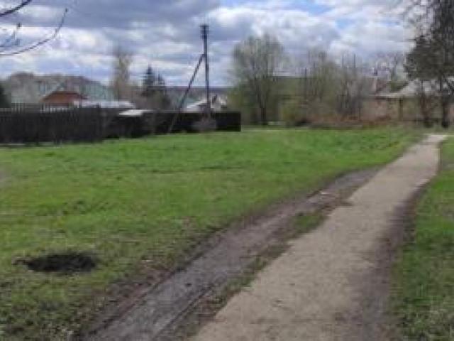 Обустройство детской игровой площадки в с.Ненашево, ул.Кирова, вблизи дома №13,Заокского района.
