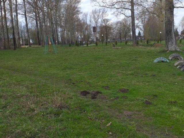Обустройство спортивной площадки в с. Рылево улица Центральная Одоевский район