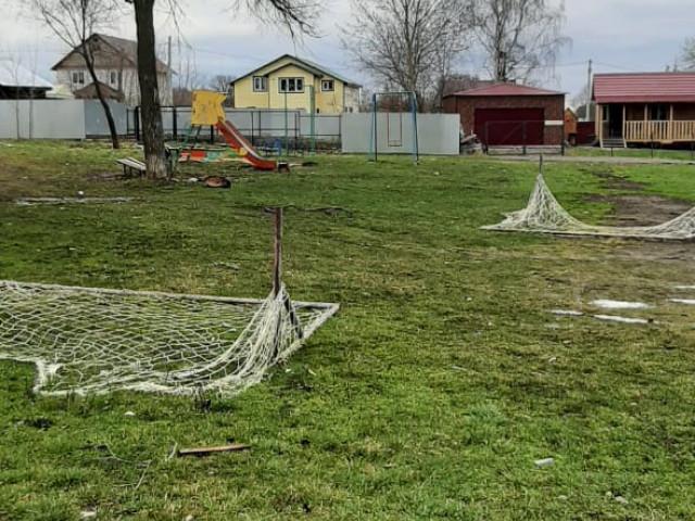 Обустройство детской игровой площадки в п.Боровковский по ул.Парковая в районе дома № 2.