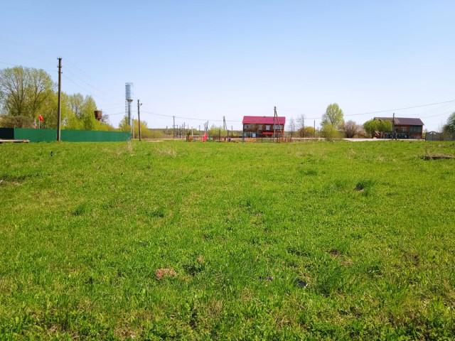 Обустройство спортивной площадки в д.Лобжа Дубенского района Тульской области на улице Центральной