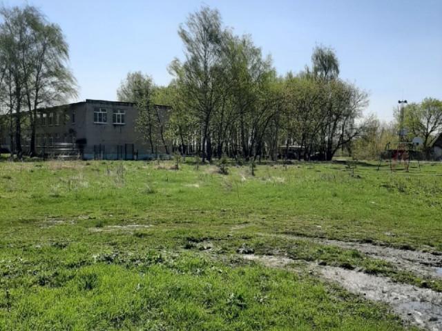 Обустройство спортивной площадки в посёлке Бельковский, ул.Школьная Веневского района